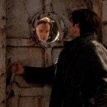 Jared Padalecki e Jackson Berlin nell'episodio Two and a Half Men di Supernatural