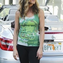 Jennifer Aniston in una scena dell'episodio All Mixed Up di Cougar Town