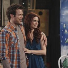 Joanna Garcia e Jake Lacy nell'episodio Better with Ben di Better with You