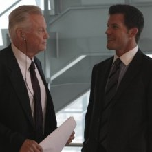 Mark Deklin e Jon Voight nell'episodio Unveiled di Lone Star