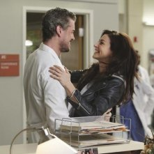 Caterina Scorsone ed Eric Dane nell'episodio Superfreak di Grey's Anatomy