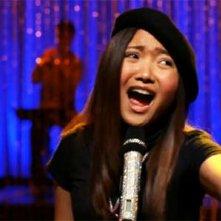 Charice in una scena dell'episodio Audition, premiere della stagione 2 di Glee