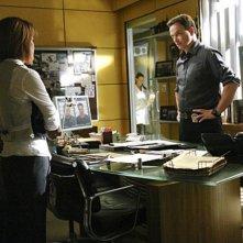 Gary Sinise in una scena dell'episodio Damned If You Do di CSI New York