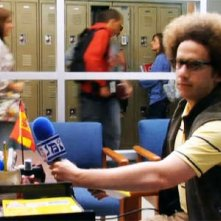 Josh Sussman in una scena dell'episodio Audition di Glee