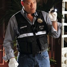 Laurence Fishburne nell'episodio Sqweegel di CSI