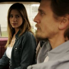 Mira Sorvino e Barry Pepper nel film Like Dandelion Dust