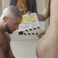 François Sagat sul set di Homme au bain