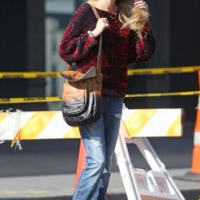 Whitney Port passeggia per New York City