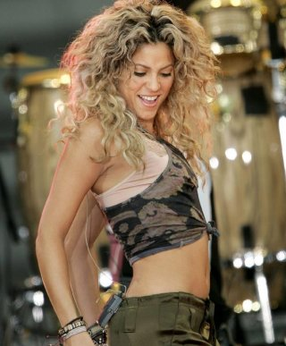 Una immagine di Shakira