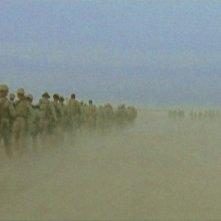 Una scena del documentario Standing Army, in onda il 28 Settembre 2010 su FX