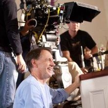 Il regista Dennis Dugan sul set del film Un weekend da bamboccioni