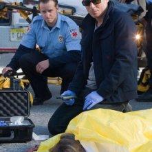 Kirk Acevedo in una scena dell'episodio The Plateau di Fringe