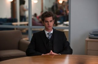 Ancora un'immagine di Andrew Garfield dal film The Social Network
