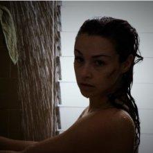 Danielle Harris in un'immagine dell'horror Hatchet 2