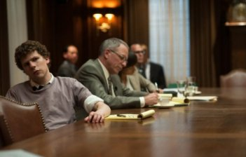 Jesse Eisenberg in una scena di The Social Network