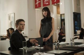 Justin Timberlake in una scena di The Social Network