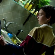 Kodi Smit-McPhee, piccolo protagonista dell'horror Let Me In