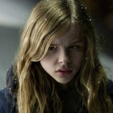 La piccola Chloe Moretz, protagonista dell'horror Let Me In