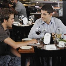 Michael Stahl-David e Julian Morris nell'episodio Birth/Rebirth di My Generation