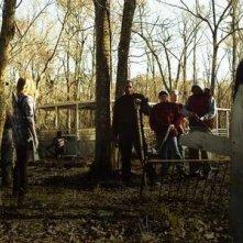 Un'immagine di gruppo dall'horror Hatchet 2