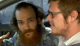 Andrew Dickler e Ben York Jones, protagonisti del film Douchebag