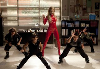 Heather Morris si esibisce in una coreografia dell'episodio Britney/Brittany di Glee