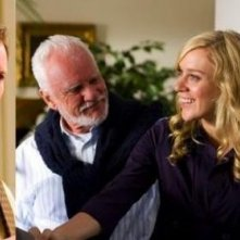 Patrick Wilson, Malcolm Mcdowell, Chloe Sevigny e Cybill Shepherd in una scena di Barry Munday