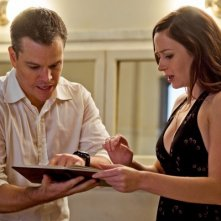 La prima immagine di Emily Blunt e Matt Damon nel thriller The Adjustment Bureau