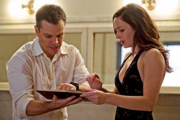 La prima immagine di Emily Blunt e Matt Damon nel thriller The Adjustment Bureau