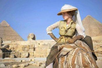 Louise Bourgoin, protagonista di Adele e l'enigma del faraone