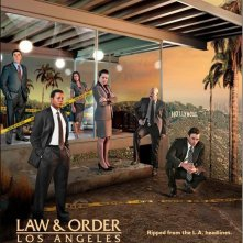 Un poster di Law & Order: Los Angeles