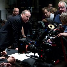 David Yates e parte del cast sul set di Harry Potter e i Doni della Morte - Parte 1