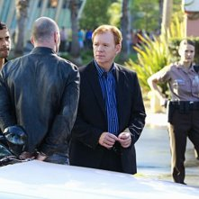 Adam Rodriguez e David Caruso nell'episiodio Reality Kills di CSI: Miami