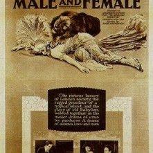 La locandina di Maschio e femmina