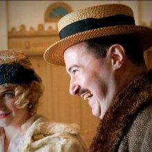 Allen Lewis Rickman e Megan Ferguson nell'episodio The Ivory Tower di Boardwalk Empire