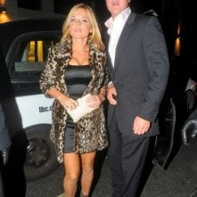 Geri Halliwell e il partner Henry Beckwith arrivano Mahiki night club in Mayfair