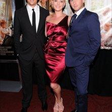 Josh Duhamel, Katherine Heigl e Josh Lucas alla premiere new yorkese di Tre all'Improvviso