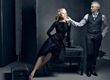 Baz Luhrmann e la sua musa Nicole Kidman in un servizio di Vanity Fair