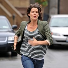 Cobie Smulders nell'episodio Subway Wars di How I Met Your Mother