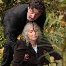 Daniel Auteuil e Sabine Azéma in una scena del film Donnant, Donnant