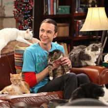 Jim Parsons nell'episodio The Zazzy Substitution di The Big Bang Theory