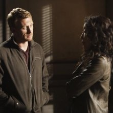 Kevin McKidd e Sandra Oh nell'episodio Can't Fight Biology di Grey's Anatomy