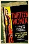 La locandina di Thirteen Women