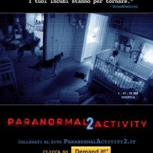 La locandina italiana di Paranormal Activity 2