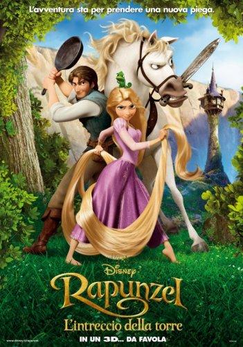 Locandina italiana per Rapunzel - L'intreccio della torre