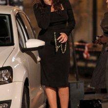 Monica Bellucci sul set di Manuale d'Amore 3