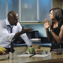 Taye Diggs Audra McDonald nell'episodio Playing God di Private Practice