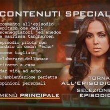 Un'immagine del menù dei contenuti speciali del quarto disco della stagione 1 di Dollhouse