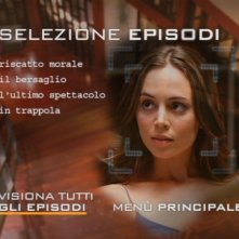 Un'immagine del menù di selezione episodi del primo disco della stagione 1 di Dollhouse