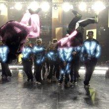 Un momento spettacolare del film Step Up 3-D